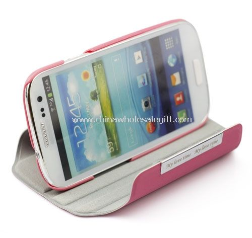 Rotating Leather Case With Stand Combo for Samsung Galaxy s3 i9300