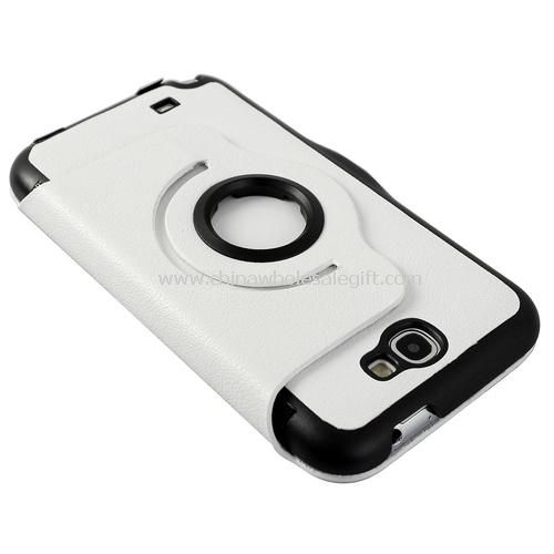 samsung galaxy note2 n7100 360 rotating leather case