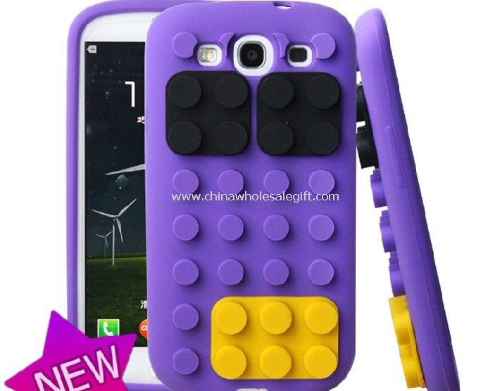 Samsung Galaxy S3 i9300 silicone block case