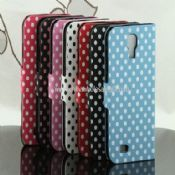 Leather Case Cover Polka Dot Wallet Card For Samsung Galaxy S4 i9500 images