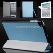Slim Magnetic PU Leather Case For iPad mini images