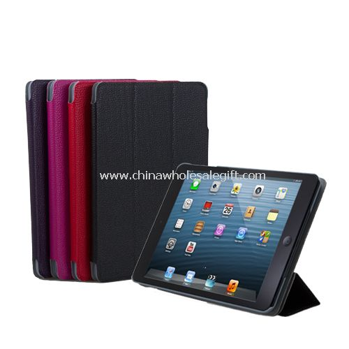 PU Leather Folio Magnetic Folding Cover For iPad mini