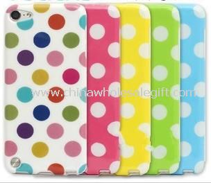 TPU Polka Dot Case Cover Accessory for iPod Touch 5th