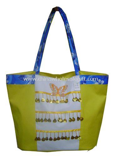600D polyester beach bag