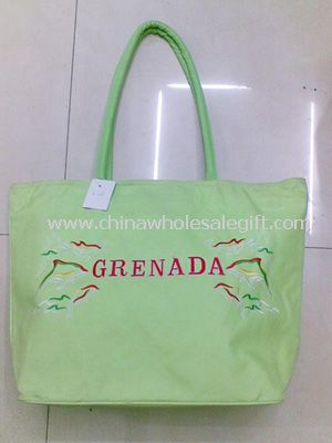 600D polyester beach bag