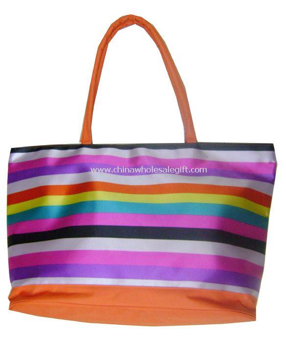Foldable beach bag