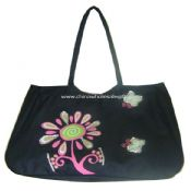 600D polyester beach bag images