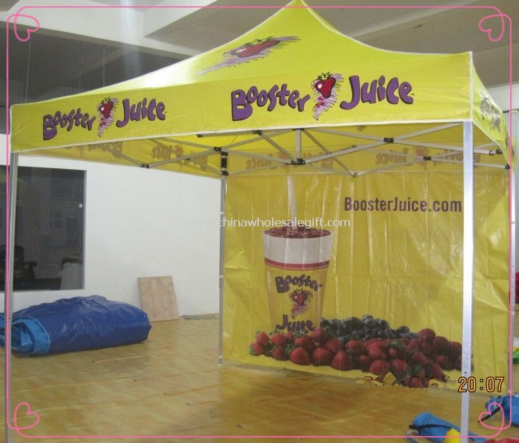 Advertising Folding Tent with One rear wall
