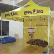 Advertising Folding Tent with One rear wall images