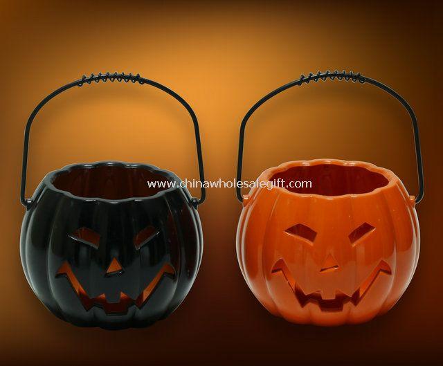 LED pumpkin Wax Candle