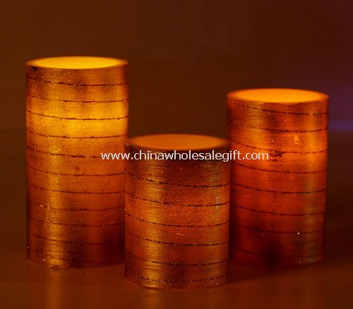 Led wax Candle for Christmas