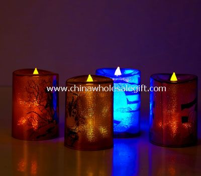 Led wax Candle for Halloween