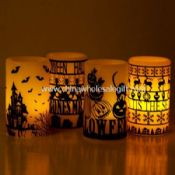 Led wax Candle for Halloween images