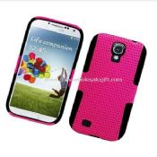 MESH DUAL LAYER HYBRID CASE PHONE COVER FOR SAMSUNG GALAXY S4 images