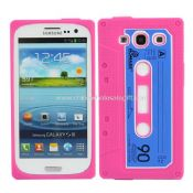 Retro Soft Silicone Cassette Case for Samsung Galaxy S3 i9300 images
