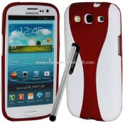 Cup Shape Rubber Case For Samsung Galaxy S3 i9300 with stylus images