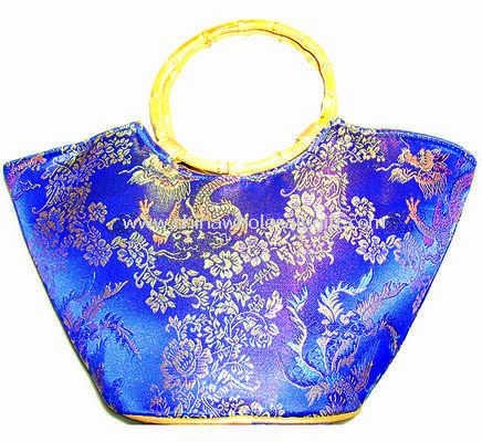 Chinese cultural characteristics jacquard lady handbags