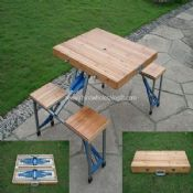 Folding camping table images