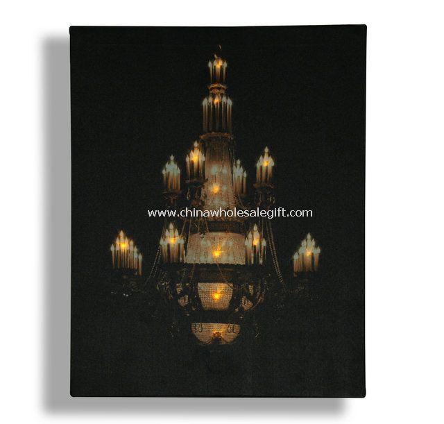 art print with led light