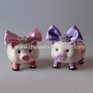 Cute Ceramic Piggy Bank