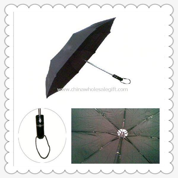 3-Fold Black Umbrella