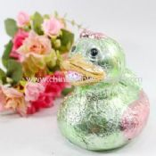 Lovely Duck Piggy Bank Ceramic Plated Money Box images