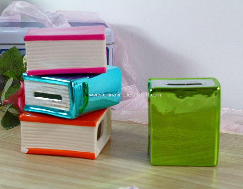 Book shape Piggy bank