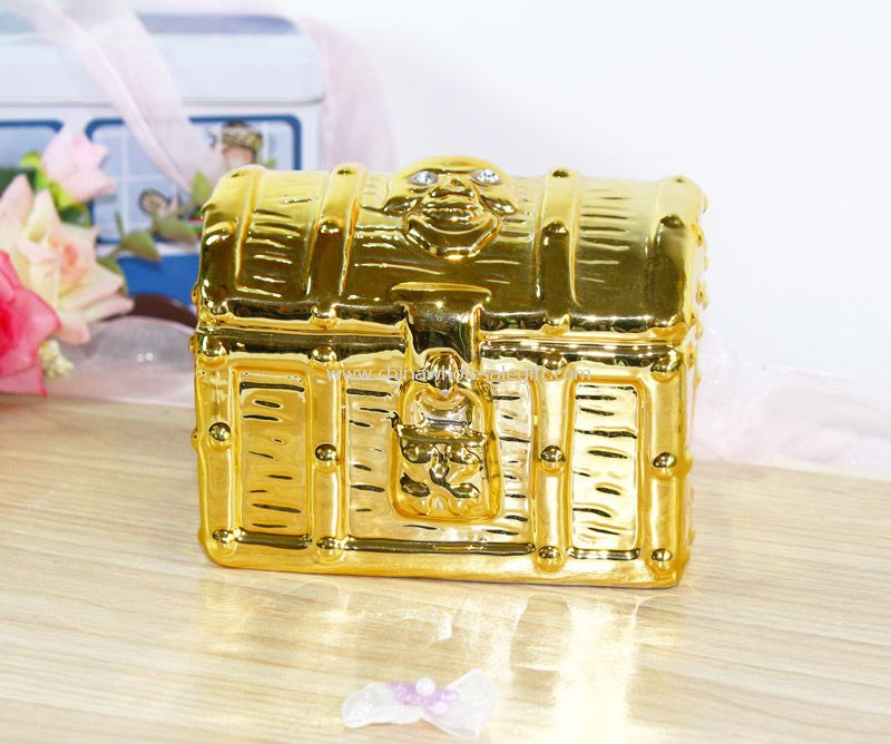 Box coin bank