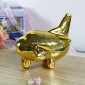 Airplane Piggy bank images