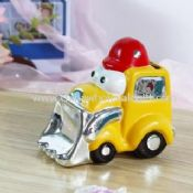 Electroplate Coin Bank Police Car images