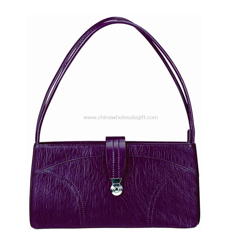 Purple color best design women tote bag