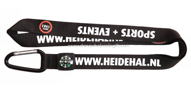 Lanyard with Compass