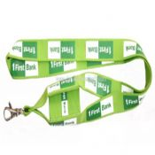 Logo printed Phone holder lanyard images