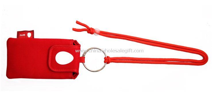 Mobile phone holder strap