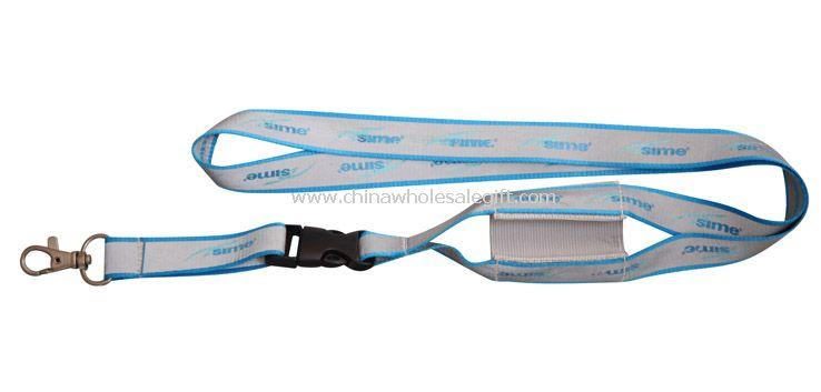 Printed mobile phone strap