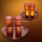 LED Candle with Mosaic Glass images