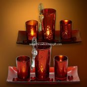Mosaic Glass Candle images