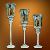 Mosaic Glass Cup LED Candle images