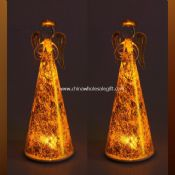 Mosaic Glass LED Candle images
