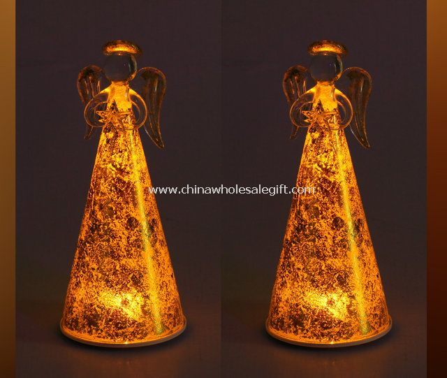 Mosaic Glass LED Candle