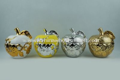 Ceramic Apple Candy Jar