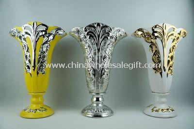 Ceramic art flower vases