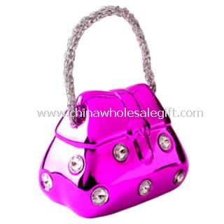 Handbag Design Crystal Bag Coin Bank