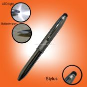 3 in 1 stylus touch pen for iphone for ipad tablet pc with LED light images