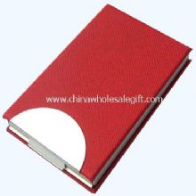 Red PVC Name card holder images