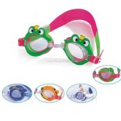 Frog shape swim goggle images