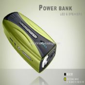 power bank mp3 speaker FM radion and LED torch images