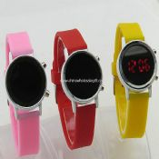LED Mirror watch images