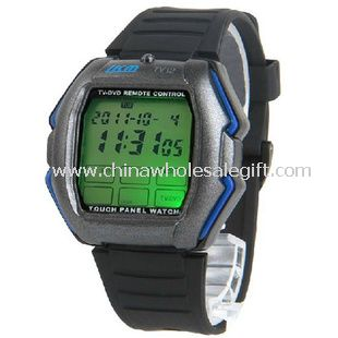 LED Watch with TV DVD Remote Control