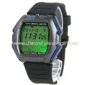 LED Watch with TV DVD Remote Control images